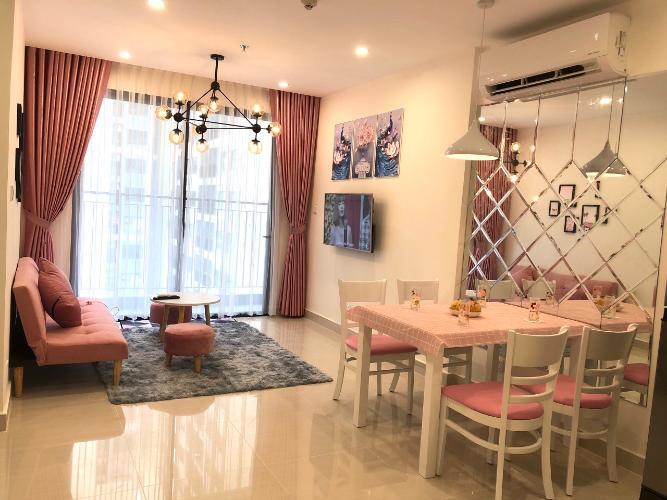 Phòng khách Vinhomes Grand Park Quận 9 Căn hộ Vinhomes Grand Park tầng 17, nội thất sang trọng.