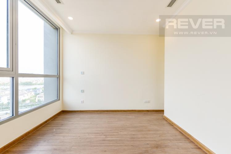 Phòng ngủ 1 Căn hộ Vinhomes Central Park 3 phòng ngủ tầng trung L6 nhà trống