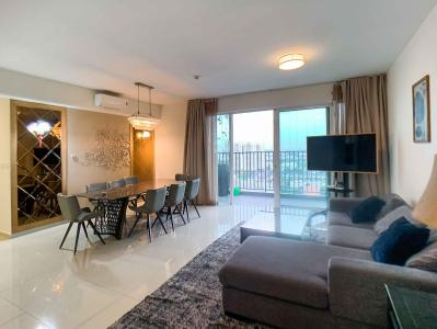 Cho thuê căn hộ Vista Verde 3PN, diện tích 121m2, đầy đủ nội thất, gần sông, view thoáng