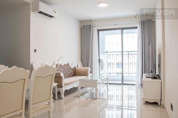 Phòng Khách Bán căn hộ Saigon Royal 2PN, tầng thấp, tháp A, đầy đủ nội thất, view trực diện hồ bơi