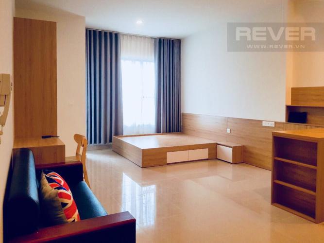 Phòng Ngủ Cho thuê căn hộ Sunrise CityView 1PN, tầng thấp, diện tích 38m2, đầy đủ nội thất