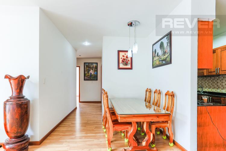 Phòng Ăn Và Lobby Cho thuê căn hộ V-Star Quận 7 3PN, nội thất cơ bản