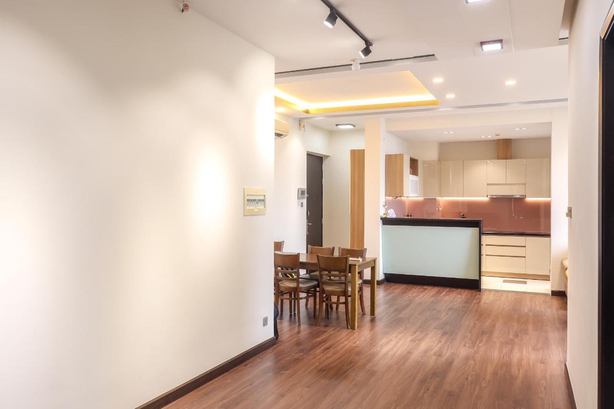 Hành Lang Phòng Khách Bán căn hộ chung cư Phú Mỹ 3 phòng ngủ, block 2, diện tích 117m2, đầy đủ nội thất, view thoáng