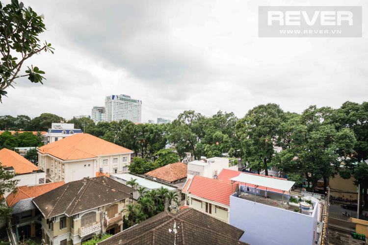 View Cho thuê căn hộ duplex Serenity Sky Villas 2PN, tầng trung, diện tích 123m2, đầy đủ nội thất