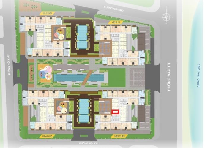 M2.13 Lo2 Bán căn hộ Q7 Saigon Riverside, diện tích 53.2m2, chưa bàn giao