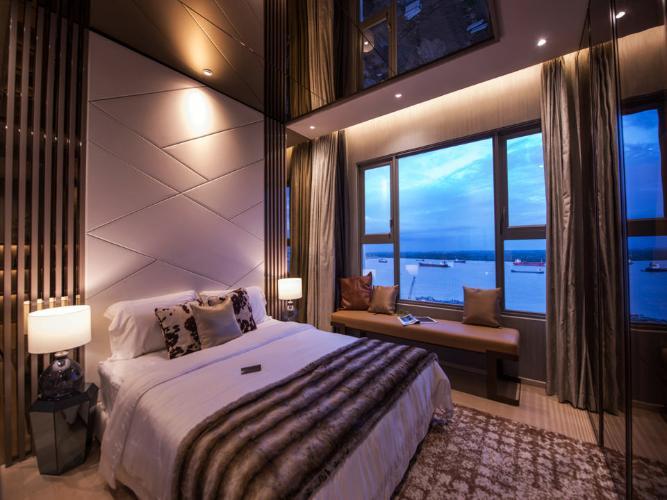 Phòng ngủ Sky An Gia, Quận 7 Căn hộ Sky 89 An Gia tầng cao, ban công đón gió thoáng mát.
