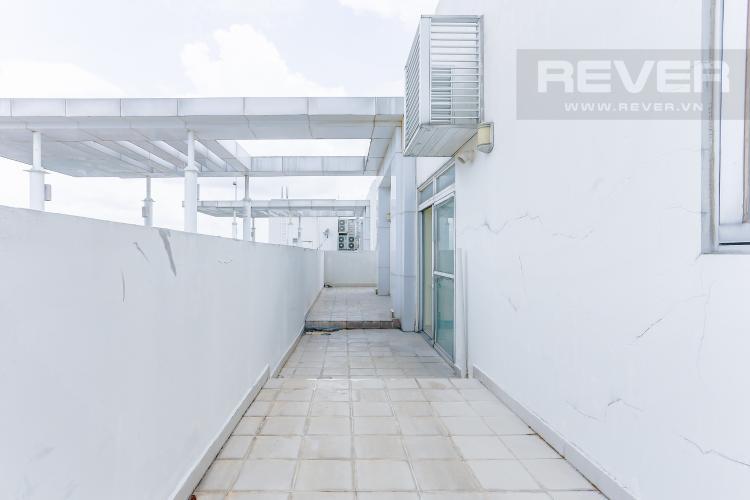 Ban Công Tầng 1 Bán penthouse Riverside Residence Quận 7, view sông, nhiều tiện ích