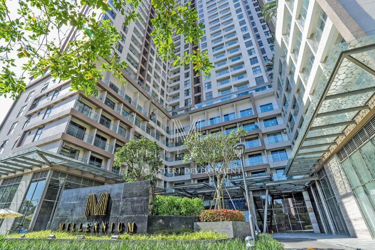 Masteri Millennium Căn hộ Masteri Millennium đầy đủ nội thất, view sông và thành phố.