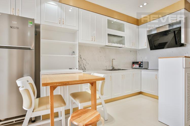 Bếp Căn hộ RiverGate Residence 2 phòng ngủ tầng cao tháp A view sông