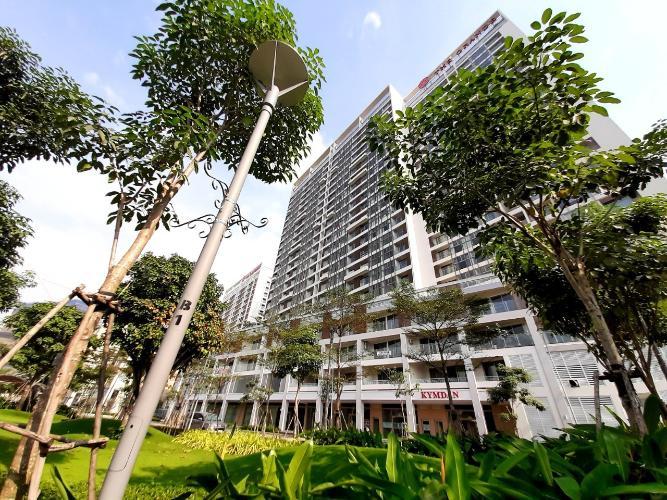 Mặt trước khu căn hộ PHÚ MỸ HƯNG MIDTOWN Cho thuê căn hộ Phú Mỹ Hưng Midtown 3PN, tầng thấp, diện tích 135m2, view công viên Hoa Anh Đào