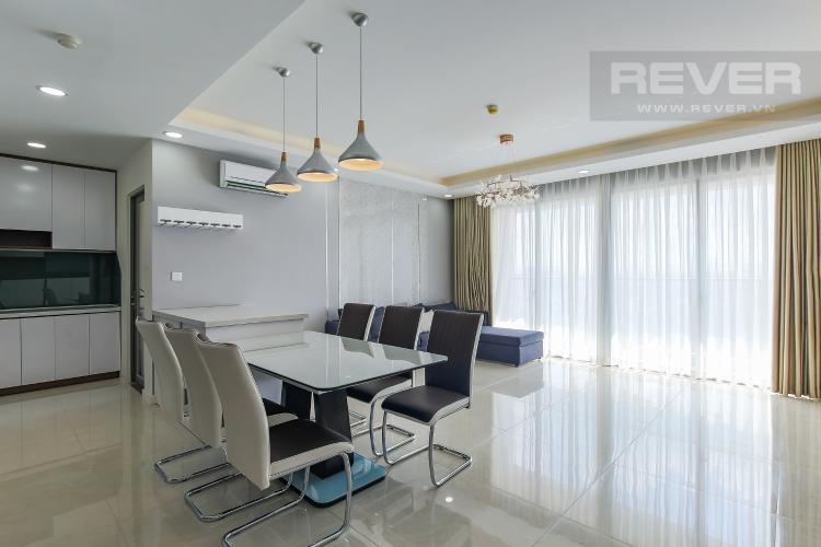 Bàn Ăn Bán căn hộ Masteri Millennium tầng cao, block B, 3PN đầy đủ nội thất