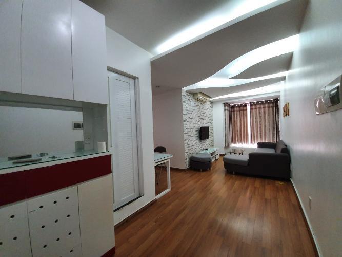 Không gian căn hộ Sky Garden 3 Căn hộ Sky Garden 3 view nội khu thoáng đãng, tầng trung.