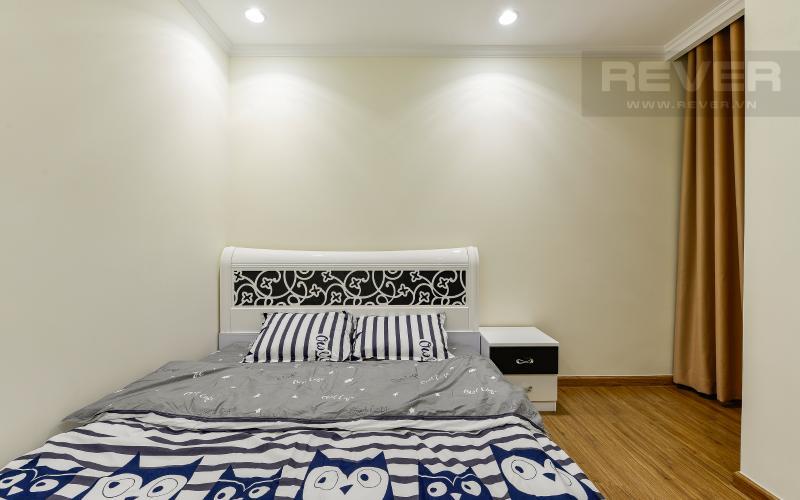 phòng ngủ 2 Căn hộ Vinhomes Central Park tầng cao L1 nội thất cao cấp, view sông
