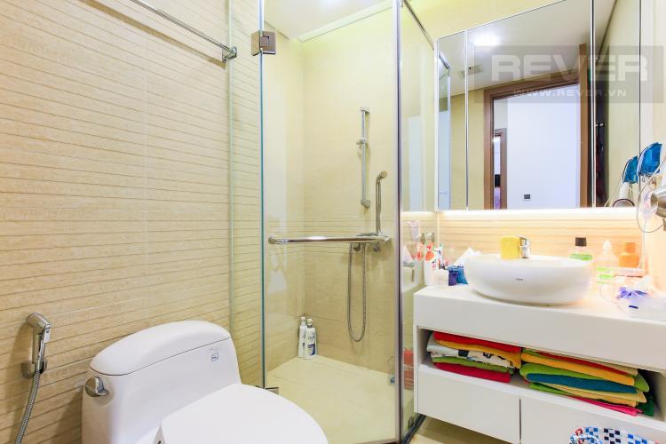 Phòng Tắm 2 Căn hộ Vinhomes Central Park tầng trung Park 5 view trực diện sông