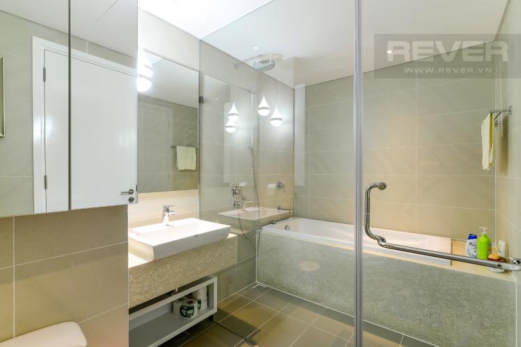 Phòng Tắm 1 Cho thuê căn hộ Diamond Island - Đảo Kim Cương 3PN, tháp Bora Bora, đầy đủ nội thất, view sông thoáng đãng