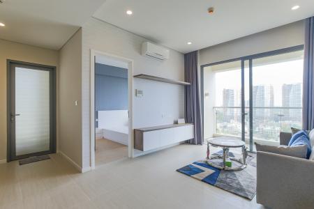Cho thuê căn hộ Đảo Kim Cương - Diamond Island 2PN, tháp Canary, đầy đủ nội thất, view sông thoáng mát