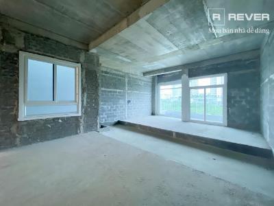Cho thuê căn hộ Thủ Thiêm Lakeview, bàn giao thô - diện tích 130m2