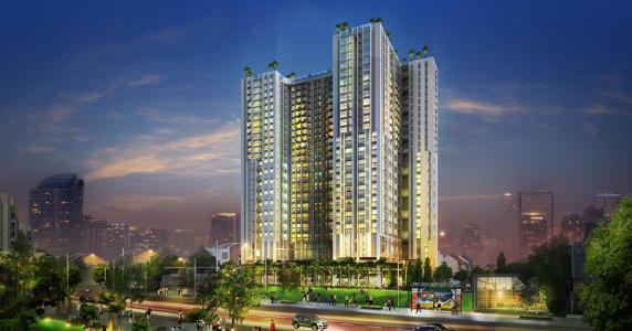 Bán căn hộ La Cosmo 2PN, tầng trung, diện tích 57.75m2, nội thất cơ bản, hướng Tây Bắc