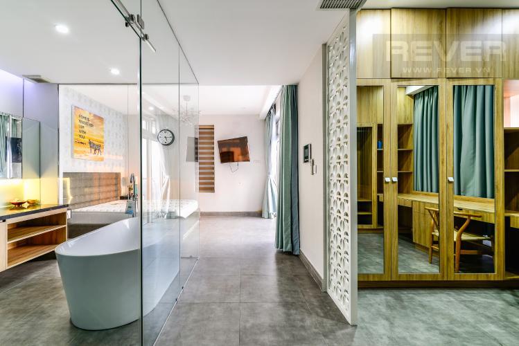 Phòng Ngủ 1 Penthouse Saigon Pearl tháp Sapphire diện tích 221m2 full nội thất