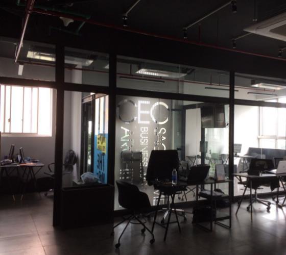 Căn office-tel Phú Mỹ Hưng Midtown Office-tel Phú Mỹ Hưng Midtown nội thất cơ bản, tầng thấp.