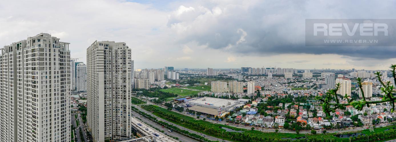 View Cho thuê căn hộ Masteri Thảo Điền tầng cao, 2PN đầy đủ nội thất