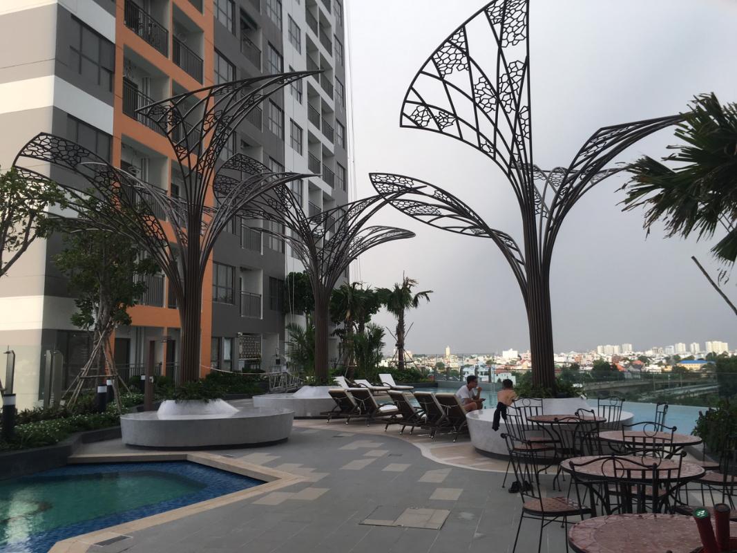06fefd2b0283e5ddbc92 Cho thuê căn hộ The Sun Avenue 2PN, block 7, đầy đủ nội thất, diện tích 79m2, view đại lộ Mai Chí Thọ