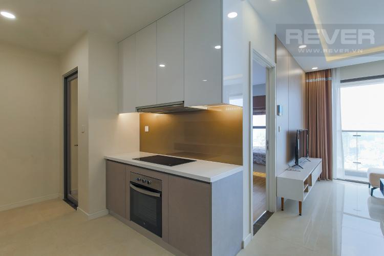 Phòng Bếp Căn hộ Masteri Millennium tầng cao, view sông, 2PN