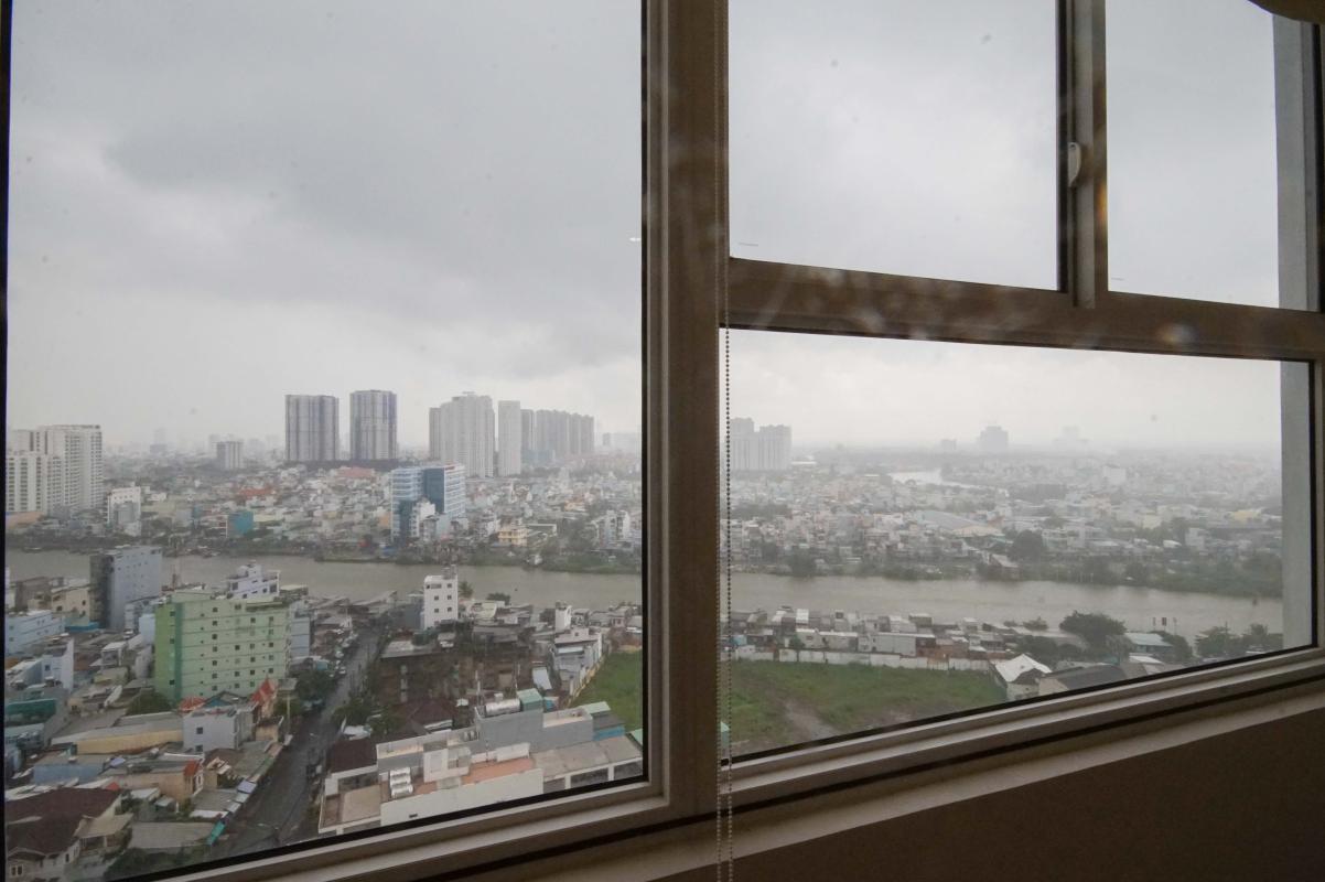 12 Cho thuê căn hộ 2 phòng ngủ Galaxy 9, tầng cao, đầy đủ nội thất, view thành phố thoáng rộng