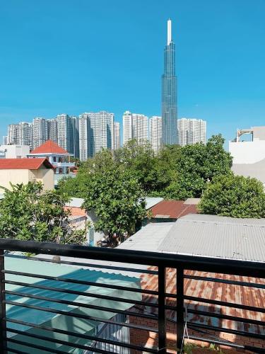 View nhà phố Bình An, quận 2 Nhà 1 trệt 2 lầu phường Bình An, quận 2 view thoáng mát ngắm Landmark