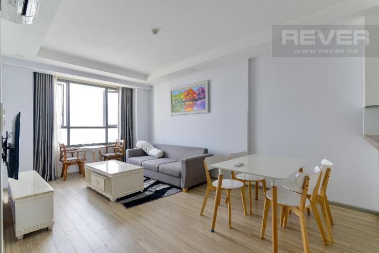 Cho thuê căn hộ The Gold View 2 phòng ngủ, tháp A, đầy đủ nội thất, view thành phố