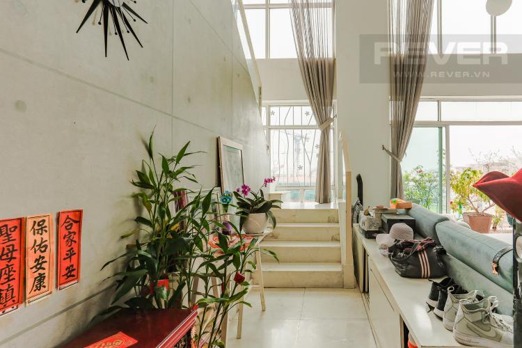 Lobby Căn hộ Duplex New Sài Gòn tầng cao tháp D1, 4 phòng ngủ, full nội thất