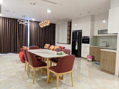 Cho thuê căn hộ Vinhomes Golden River 3PN, diện tích 118m2, đầy đủ nội thất, view sông Sài Gòn