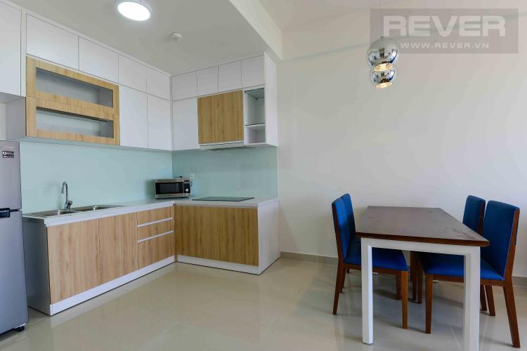 Phòng Khách Cho thuê căn hộ The Sun Avenue tầng cao, 2 phòng ngủ, đầy đủ nội thất