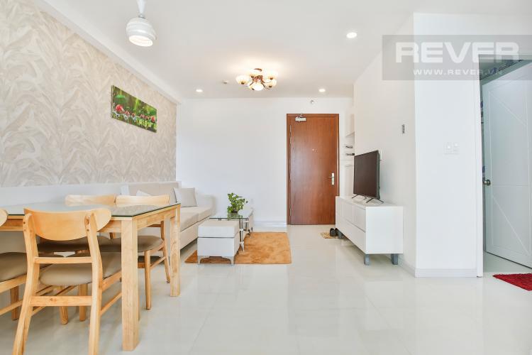 Phòng Khách Căn hộ The Gold View 2 phòng ngủ tầng cao A2 đầy đủ nội thất