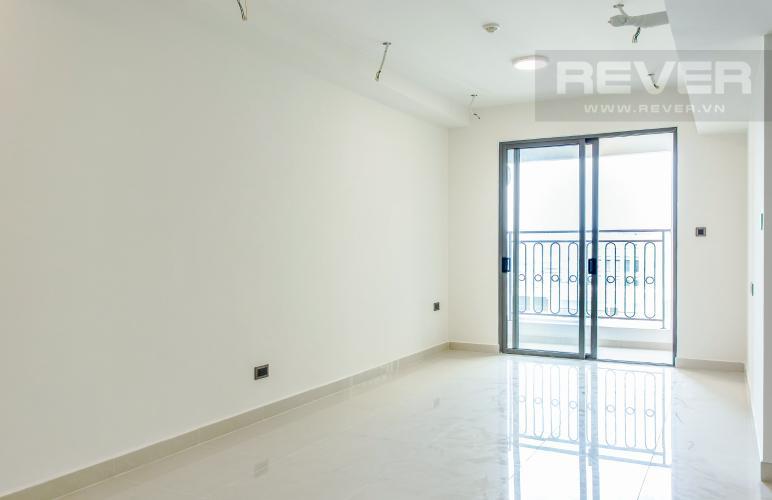 Phòng Khách Bán căn hộ Saigon Royal 1PN, tầng cao, block A, diện tích 53m2, view hồ bơi