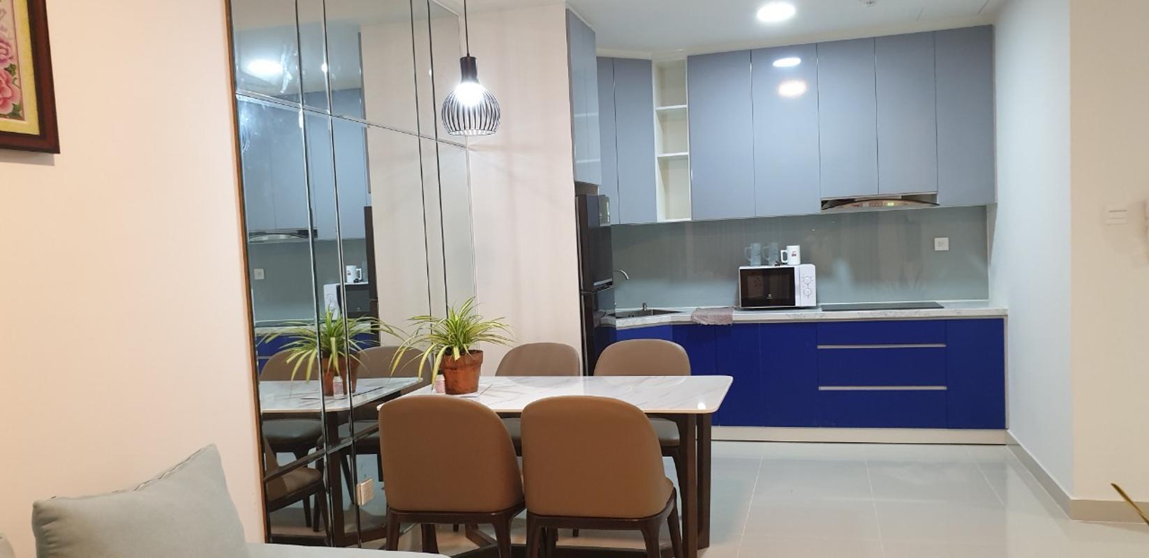 9e3857c6f050170e4e41 Cho thuê căn hộ The Sun Avenue 2PN, tầng thấp, block 2, đầy đủ nội thất, hướng Tây Nam