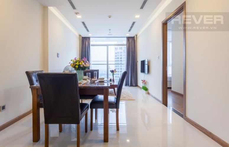 Không gian căn hộ Căn hộ Vinhomes Central Park tầng cao hướng Tây Nam Park 6
