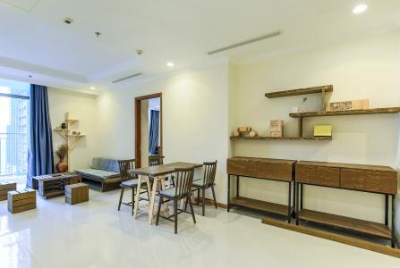 Căn hộ Vinhomes Central Park 3 phòng ngủ, tầng trung L3, nội thất đầy đủ