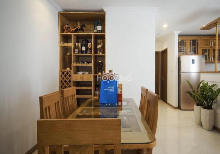 Phòng ăn căn hộ VINHOMES CENTRAL PARK Cho thuê căn hộ Vinhomes Central Park 2PN, tháp Landmark 2, đầy đủ nội thất, view thành phố