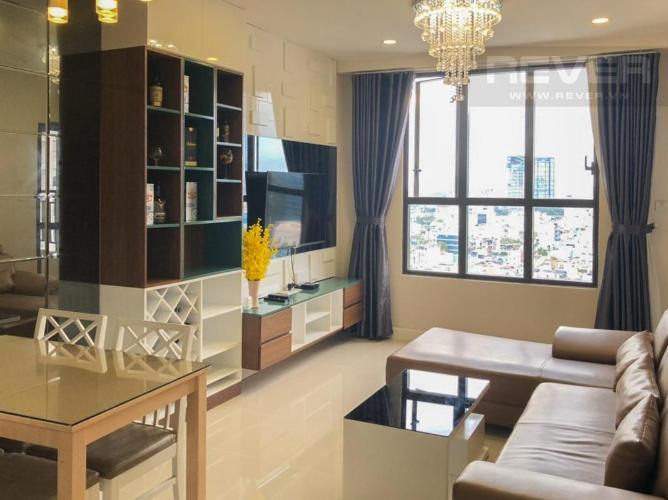 Cho thuê căn hộ tầng cao ICON 56 nội thất đầy đủ, dọn vào ở ngay.