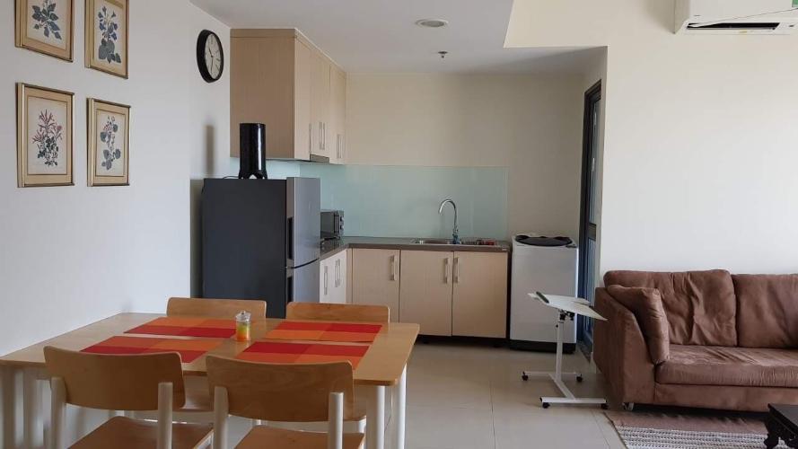Bán căn hộ tầng cao Masteri Thảo Điền, không gian hiện đại.