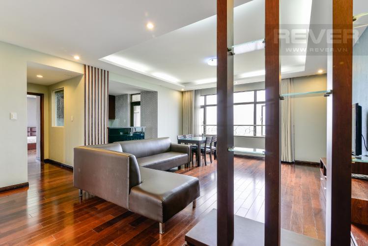 Phòng Khách Căn hộ The Panorama 3 phòng ngủ tầng trung view sông