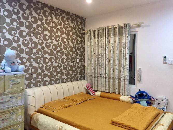 Phòng ngủ chung cư Phúc Yên, Tân Bình Căn hộ chung cư Phúc Yên hướng Đông Bắc, nội thất đầy đủ.