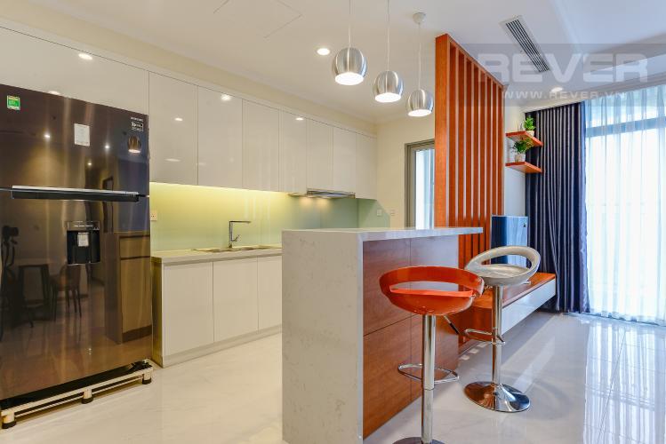 Bếp Căn hộ Vinhomes Central Park 3 phòng ngủ tầng trung L4 nội thất đầy đủ