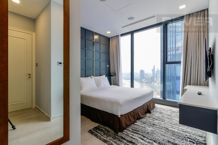Phòng Ngủ 1 Căn hộ Vinhomes Golden River tầng cao, 2PN 1WC, nội thất đầy đủ, view sông