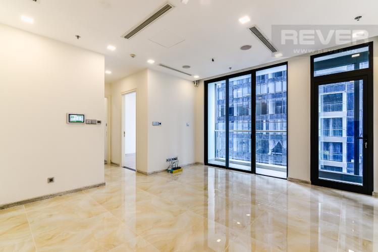 Phòng Khách Officetel Vinhomes Golden River 2 phòng ngủ view sông tầng cao A2