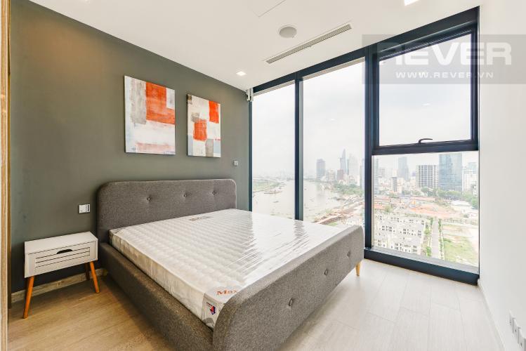 Phòng ngủ 1 Căn hộ Vinhomes Golden River 2 phòng ngủ tầng cao A2 view sông