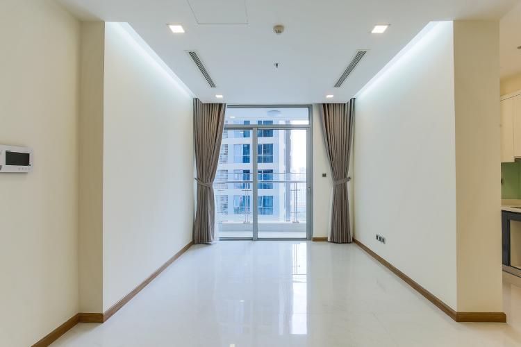 Phòng Khách Căn hộ Vinhomes Central Park 2 phòng ngủ tầng trung P3 view hồ bơi