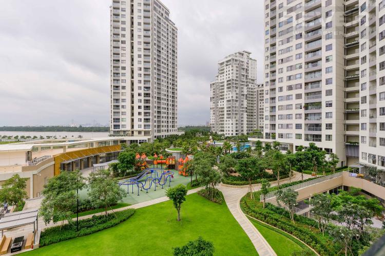 View Cho thuê căn hộ Diamond Island - Đảo Kim Cương 1PN, tháp Canary, đầy đủ nội thất, view nội khu xanh mát