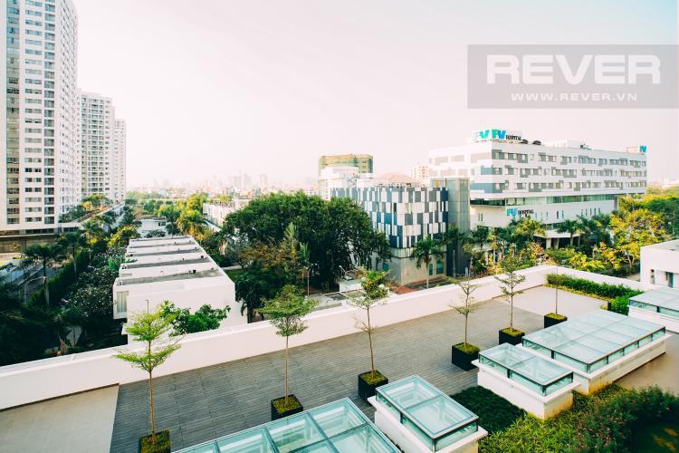 View Cho thuê căn hộ Scenic Valley 77m2 2PN 2WC, nội thất tiện nghi, view đường phố